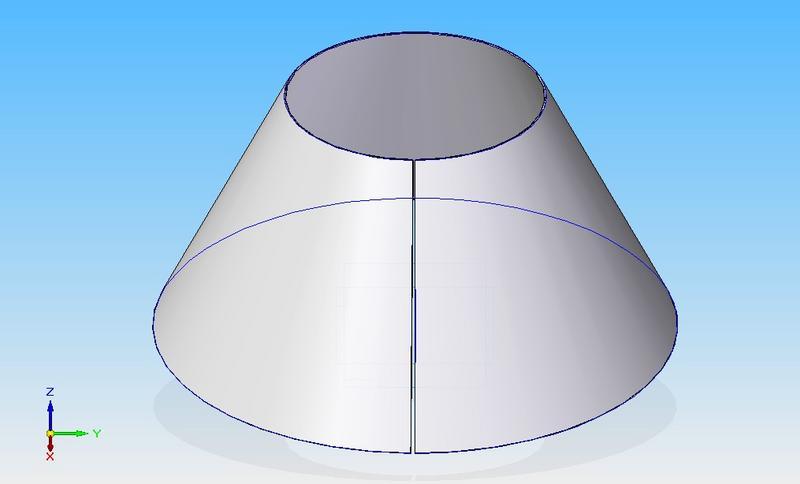 Demostraci n de la f rmula del volumen del tronco de cono for Prisma circular